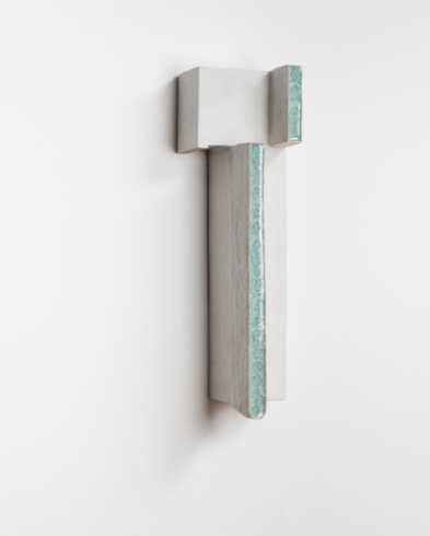 Liquids 15, 2017, Keramik, H 63 cm, Foto © Christian Schlüter