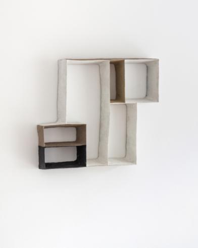 Großer Plan 14, 2019, Keramik, H 64 cm, Foto © Michael Cleff