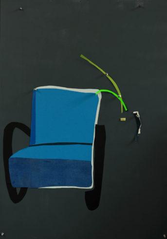 Ina Riepe - Blauer Stuhl 05