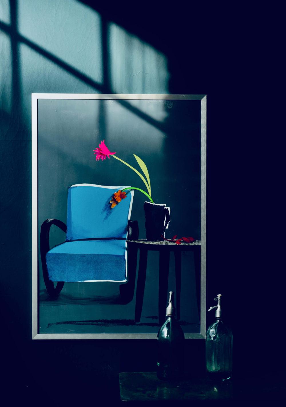 Ina Riepe - Blauer Stuhl 07