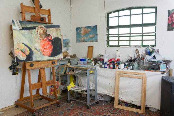Atelier von Bettina Bülow-Böll