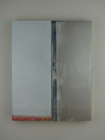 #1346, 2020, Öl auf Leinwand, 50 x 40 x 5,5 cm VG Bild-Kunst, Bonn 2020 /Arvid Boecker, Foto: Arvid Boecker