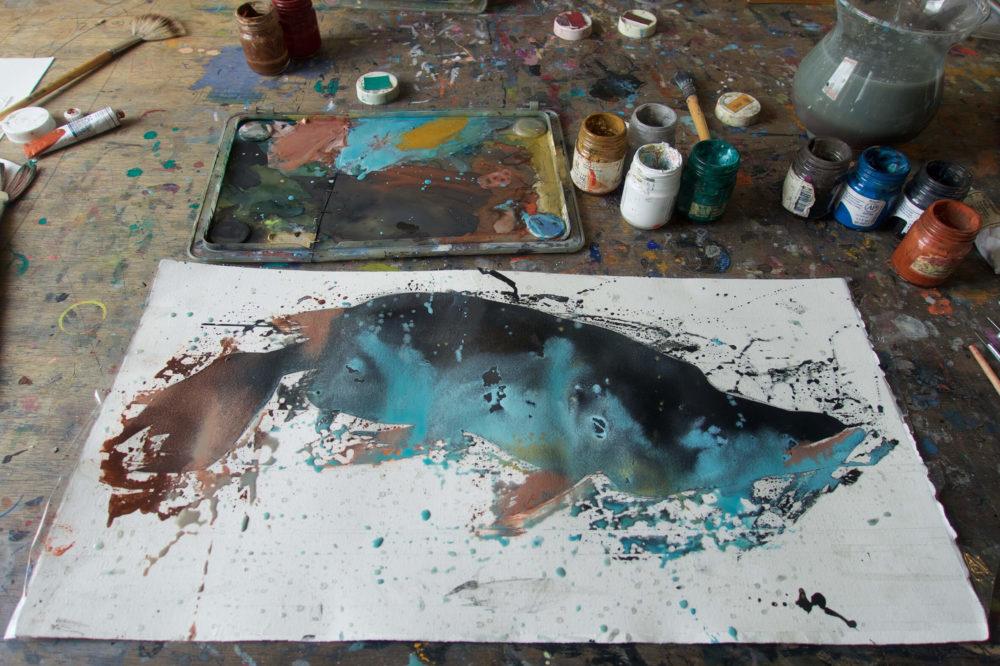 Aljoscha Blau - Gouache 04