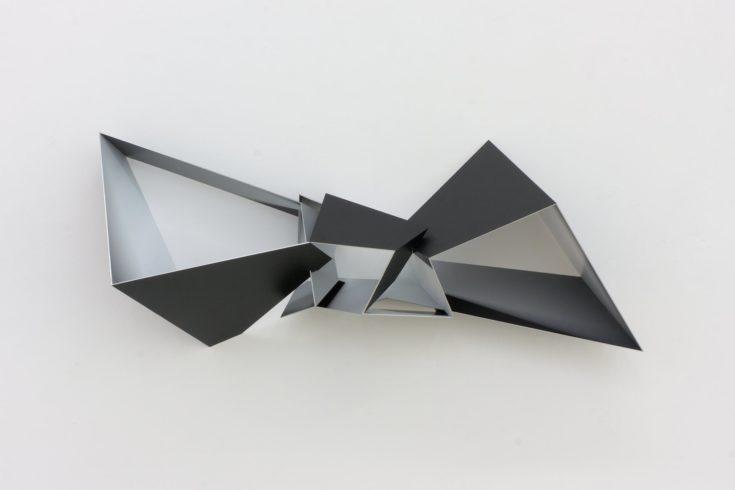 ExplosionC1412, 2012, digital print on film on aluminium, 40 x 97 x 24 cm Foto: Peter Wackernagel
