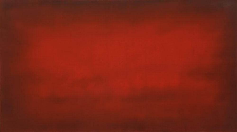 Johannes Gervé, Red, 95 x 170 cm, 2020