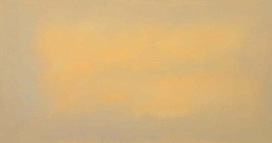 Johannes Gervé, Yellow dawn, 80 x 150 cm, 2020