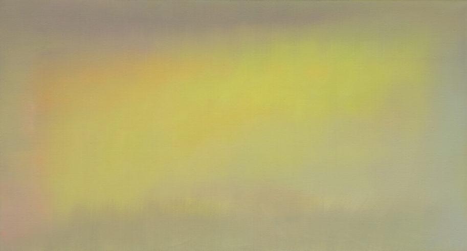 Johannes Gervé, Yellow, 80 x 150 cm, 2020