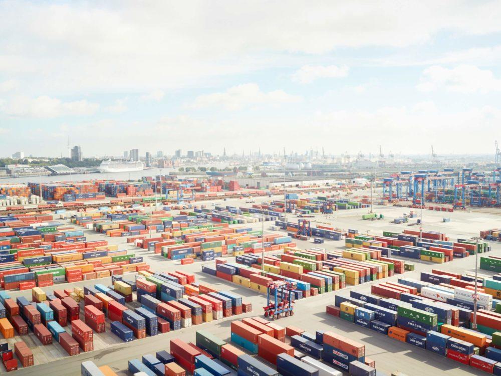 Henrik Spohler: Containerterminal, Hamburg 2013, Deutschland © Henrik Spohler