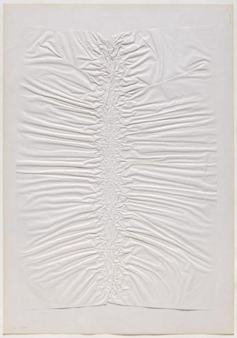 """29 VIII 69/2"", Papier, 100 x 70 cm, 1969 Foto: Sascha Fuis, © Oskar Holweck Nachlass, Courtesy Gallery Martin Kudlek, Köln"