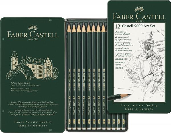 Art-Set | Faber Castell Castell 9000