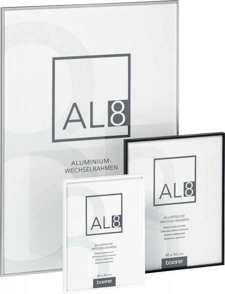 boesner AL8 Aluminium-Wechselrahmen