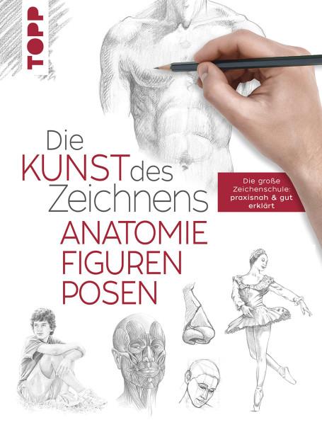 Die Kunst des Zeichnens: Anatomie, Figuren, Posen – Zeichenschule | frechverlag