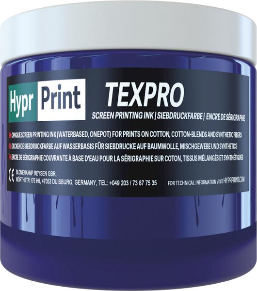 Siebdruckland HyprPrint Texpro Siebdruckfarbe
