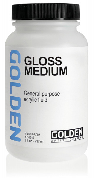 Gloss Medium | Golden Mediums & Additives
