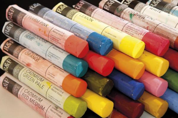 R&F Pigment Stick-Set, Opaque Color