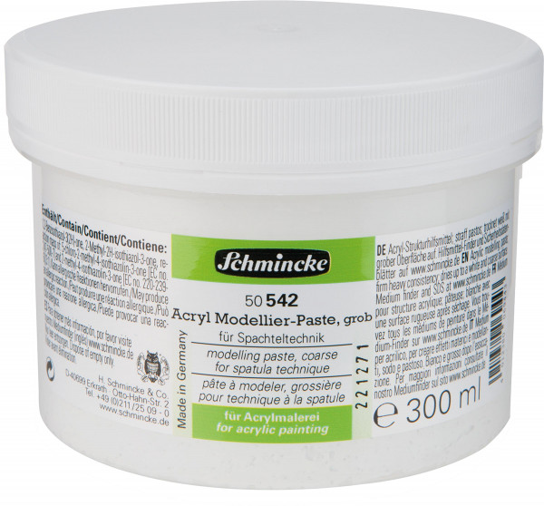 Schmincke Acryl Modellier-Paste [DE_Online]