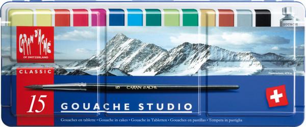 Caran d'Ache Gouache Studio-Set