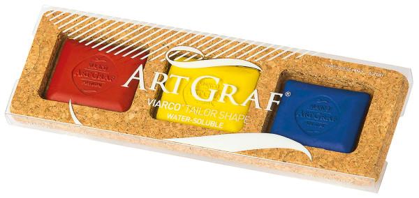 Art Graf Grafitkreide-Set | 3 Kreiden