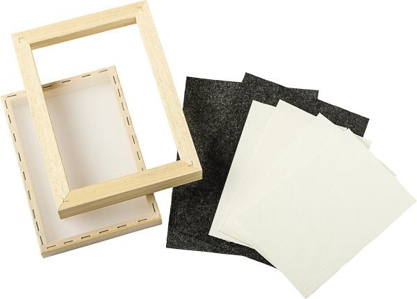 Abig Papierschöpfrahmen-Set