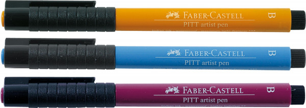 Faber-Castell Pitt Artist Pen Brush/Soft Brush