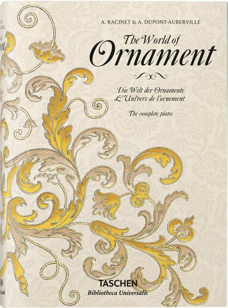 Racinet – Die Welt der Ornamente (David Batterham (Hrsg.)) | Taschen Vlg.