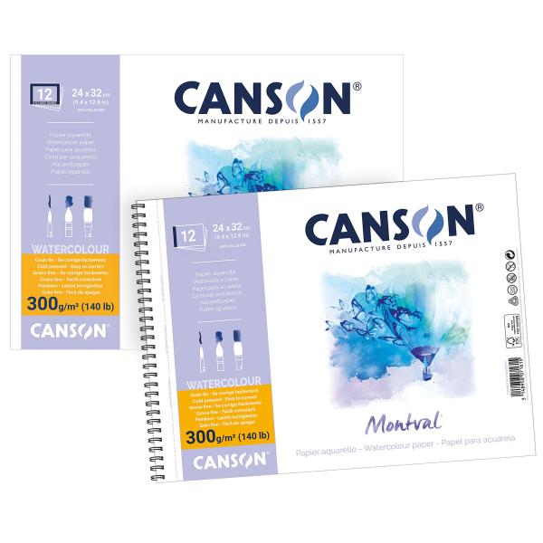 Canson® – Montval Aquarellblock