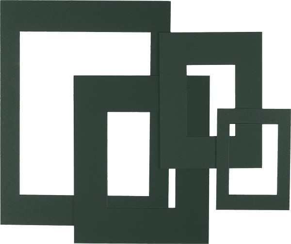 Dorée Fertigpassepartouts, farbig mit 1 Ausschnitt