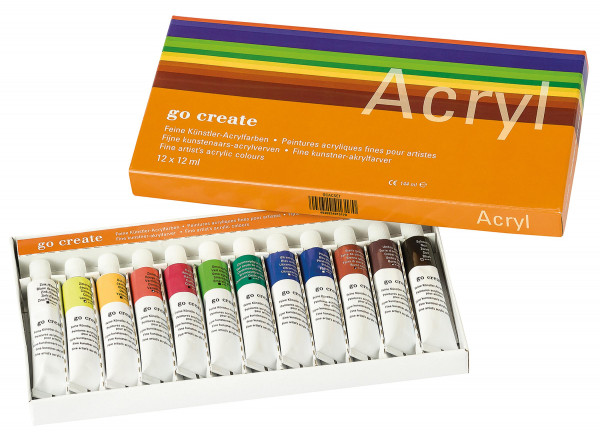 Go Create Acrylfarben-Set