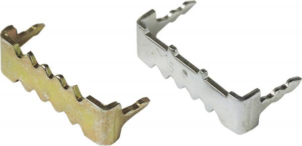 Einschlag-Zackenaufhänger