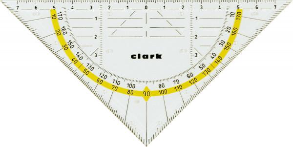 Clark Geometriedreieck/18 cm