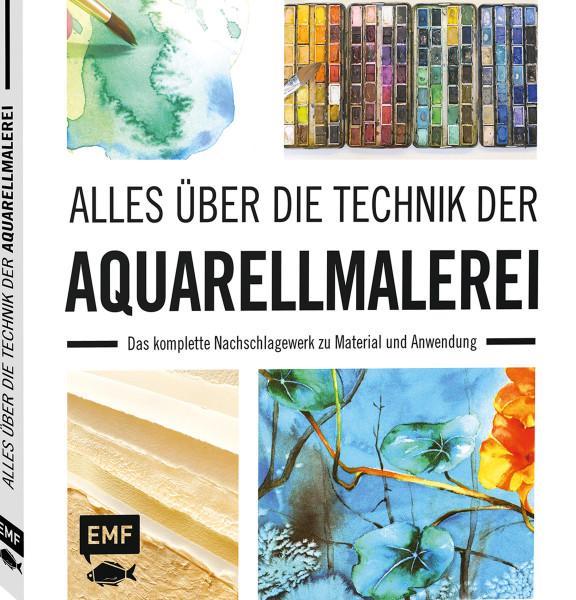 Alles über die Technik der Aquarellmalerei | EMF Vlg.