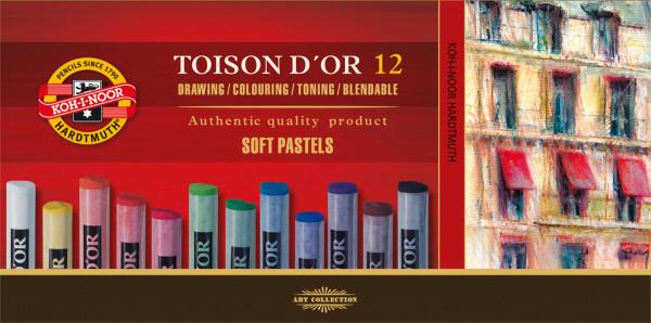 Koh-I-Noor Toison d'Or Künstler-Pastell-Set