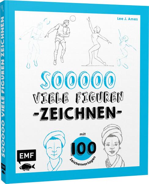 MONAT_2021-07_Juli: So viele Figuren zeichnen (Lee J. Ames)   EMF Vlg.