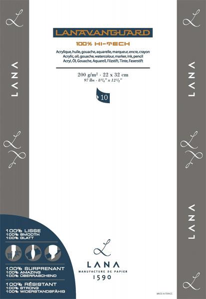 Lana Lanavanguard Multitechnik-Papier, Block