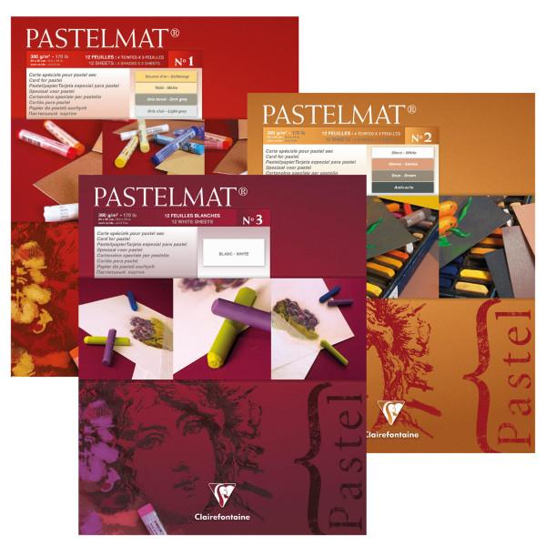 Clairefontaine Pastelmat® Pastellblock