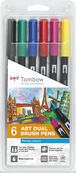 Set   Tombow Dual Brush Pen