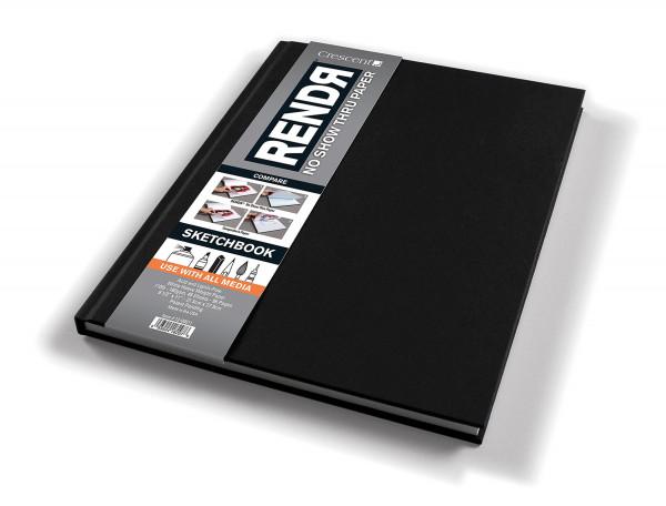 Hardcover Sketchbook | Crescent Rendr Makerpapier