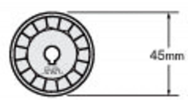 WAB 45-1 Klinge, 1 Stück   Olfa RTY-2 G Rundschneider