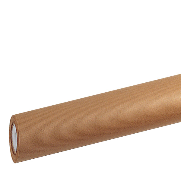 dorée Kraft-Packpapierrolle, gerippt