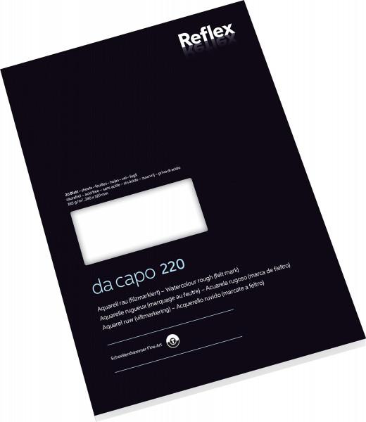 Schoellershammer Da Capo 220 Aquarellblock by Reflex
