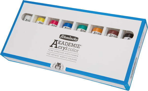 Schmincke Akademie Acryl Color Grundsortiment