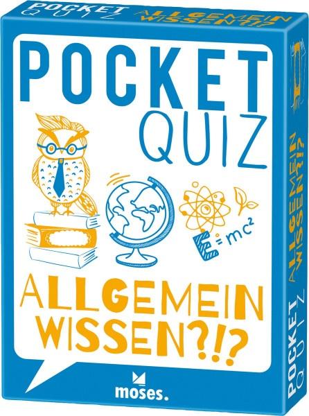 Pocket Quiz Allgemeinwissen (Elke Vogel) | Moses Vlg.