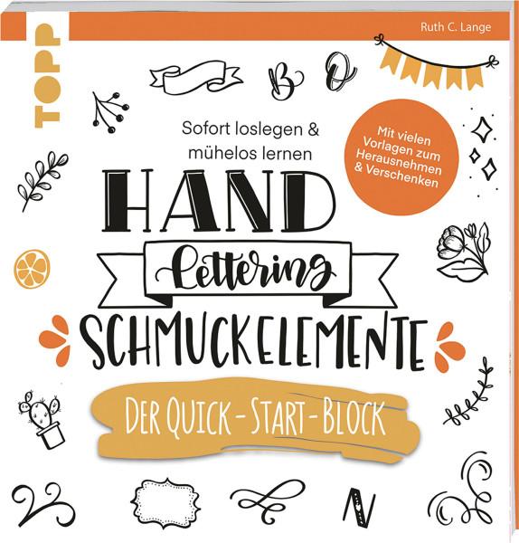 Handlettering Schmuckelemente: Der Quick-Start-Block (Ruth C. Lange)   frechverlag