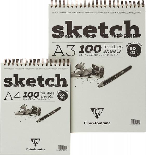 Clairefontaine Sketch Skizzenblock