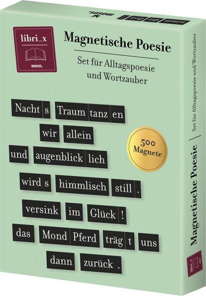 libri_x Magnetische Poesie | Moses Vlg.