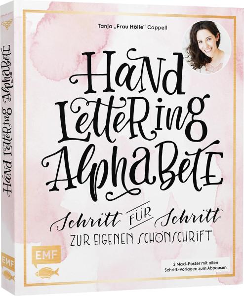 Frau Hölle: Handlettering Alphabete | EMF Vlg.
