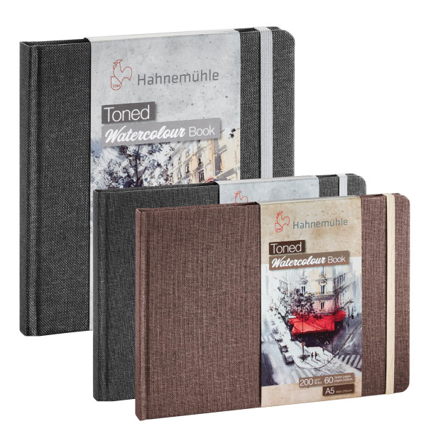 Hahnemühle Toned Watercolour Book