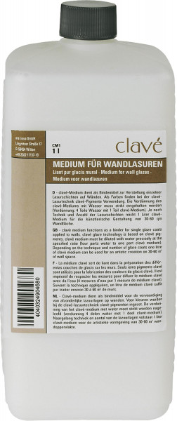 Clavé Medium für Wandlasuren