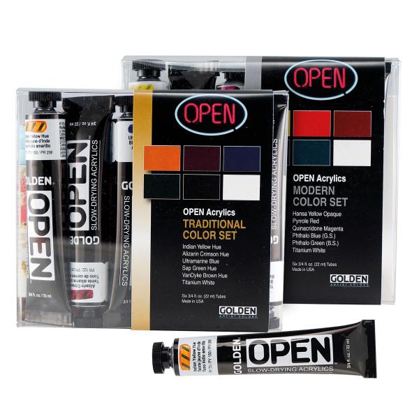 Golden Open Introductory Acrylfarben-Set
