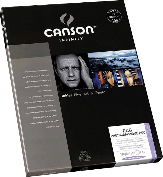 Rag Photographique Duo, 220 g/m² | Canson Infinity